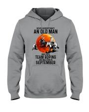 09 Team roping old man Hooded Sweatshirt tile