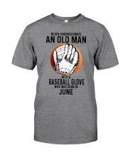 06 baseball old man Classic T-Shirt front
