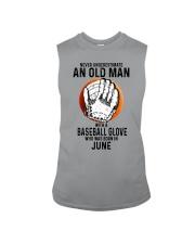 06 baseball old man Sleeveless Tee tile