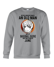 06 baseball old man Crewneck Sweatshirt tile