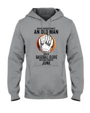 06 baseball old man Hooded Sweatshirt tile