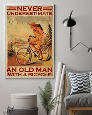 Cycling never old man poster 24x36 Poster lifestyle-poster-1
