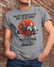 1 team roping never Classic T-Shirt apparel-classic-tshirt-lifestyle-26