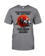 1 team roping never Classic T-Shirt front
