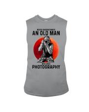 photography never old man Sleeveless Tee tile