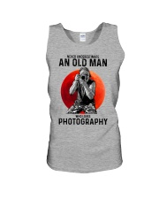 photography never old man Unisex Tank tile