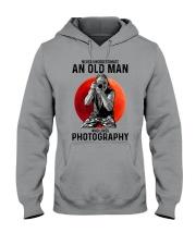 photography never old man Hooded Sweatshirt tile