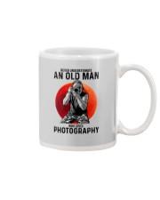 photography never old man Mug tile