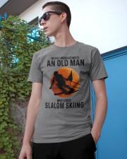 Slalom skiing Classic T-Shirt apparel-classic-tshirt-lifestyle-17