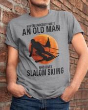 Slalom skiing Classic T-Shirt apparel-classic-tshirt-lifestyle-26