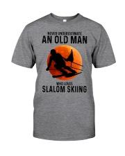 Slalom skiing Classic T-Shirt front