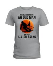 Slalom skiing Ladies T-Shirt tile