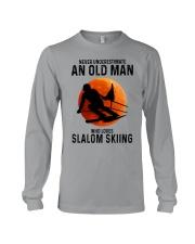 Slalom skiing Long Sleeve Tee tile