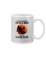 Slalom skiing Mug tile