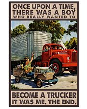 Trucker Poster 24x36 Poster front