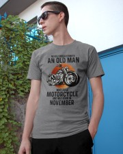 Motorcycle never 11 Classic T-Shirt apparel-classic-tshirt-lifestyle-17
