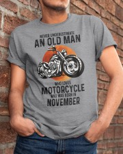 Motorcycle never 11 Classic T-Shirt apparel-classic-tshirt-lifestyle-26