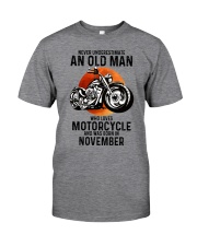 Motorcycle never 11 Classic T-Shirt front