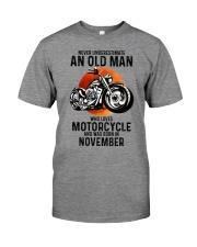Motorcycle never 11 Premium Fit Mens Tee tile
