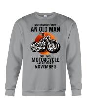 Motorcycle never 11 Crewneck Sweatshirt tile