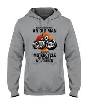 Motorcycle never 11 Hooded Sweatshirt tile