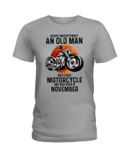Motorcycle never 11 Ladies T-Shirt tile