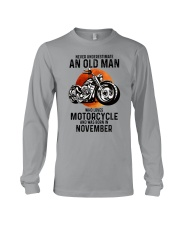 Motorcycle never 11 Long Sleeve Tee tile