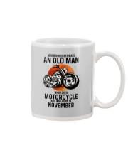 Motorcycle never 11 Mug tile
