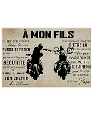 to my son france poster  36x24 Poster front