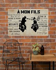 to my son france poster  36x24 Poster poster-landscape-36x24-lifestyle-20