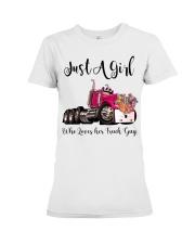 Truck Girl Premium Fit Ladies Tee tile