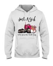 Truck Girl Hooded Sweatshirt tile