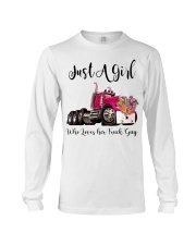 Truck Girl Long Sleeve Tee tile
