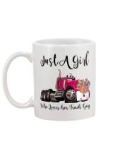 Truck Girl Mug back