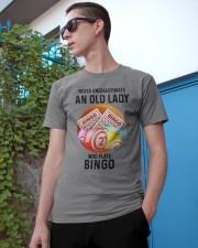 bingo old lady Classic T-Shirt apparel-classic-tshirt-lifestyle-17