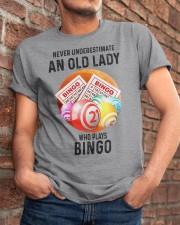 bingo old lady Classic T-Shirt apparel-classic-tshirt-lifestyle-26