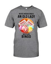 bingo old lady Classic T-Shirt front