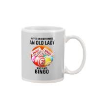bingo old lady Mug tile