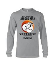 10 boxing old man Long Sleeve Tee tile