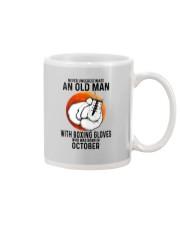 10 boxing old man Mug tile