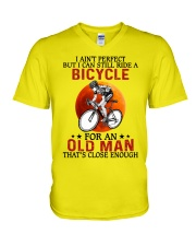 perfect cycling olm V-Neck T-Shirt tile