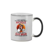 perfect cycling olm Color Changing Mug tile