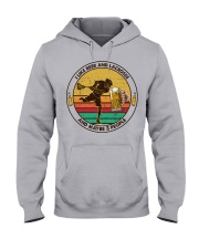 i like beer lacrosse Hooded Sweatshirt front