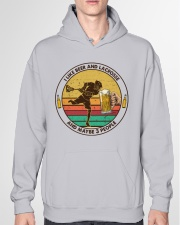 i like beer lacrosse Hooded Sweatshirt garment-hooded-sweatshirt-front-04