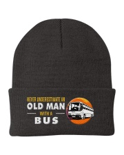 hat bus old man Knit Beanie thumbnail