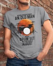 08 drum set never old man Classic T-Shirt apparel-classic-tshirt-lifestyle-26