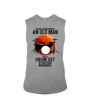 08 drum set never old man Sleeveless Tee tile