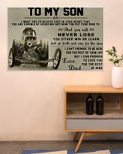 Drag Racing To My Son 36x24 Poster poster-landscape-36x24-lifestyle-22