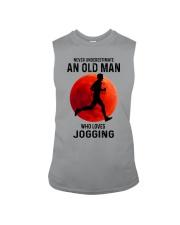 jogging old man never Sleeveless Tee tile