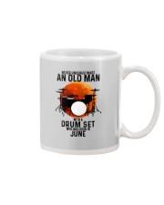 06 drum set never old man Mug tile